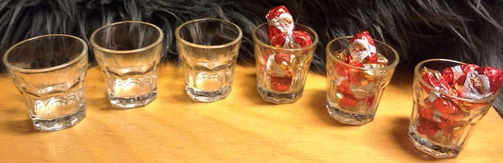 6 Gläser Rätsel